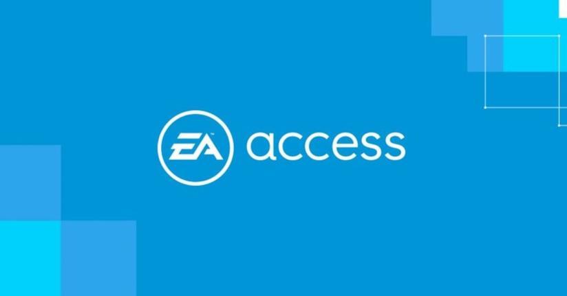 Il logo di EA Access, il servizio in abbonamento di EA