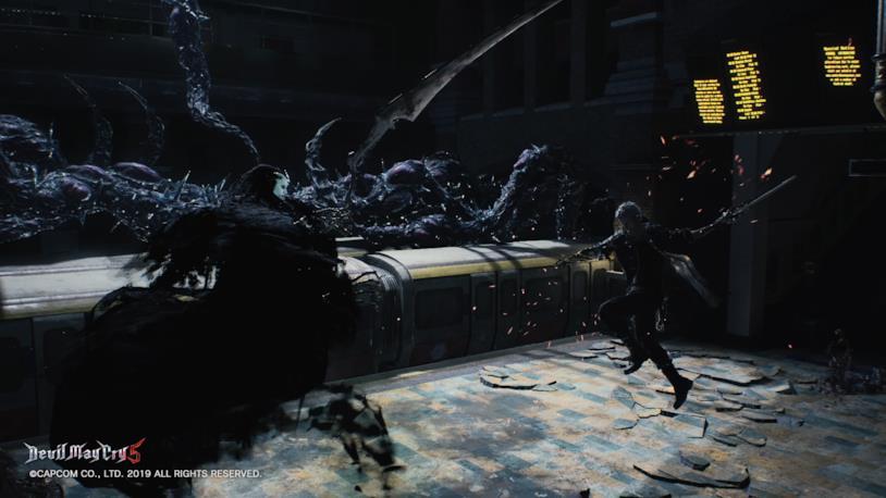 Nero combattimento Devil May Cry 5