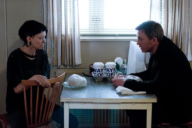 Rooney Mara e Daniel Craig in Millennium - Uomini che odiano le donne