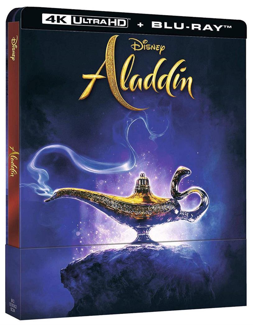 La cover della versione Home Video di Aladdin
