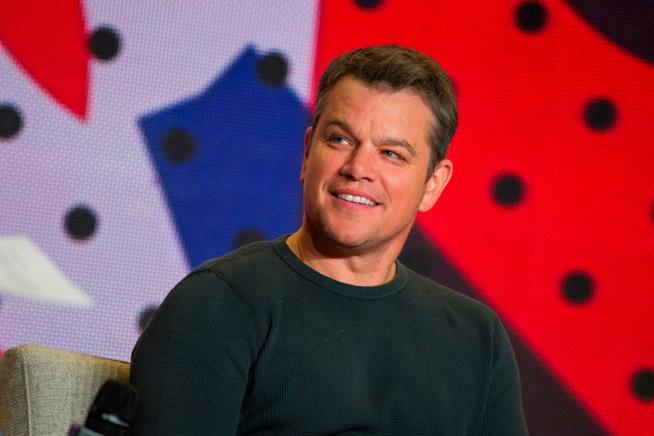 Mezzobusto di Matt Damon