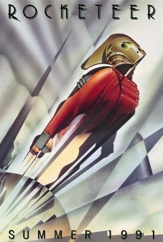 Il poster di The Rocketeer