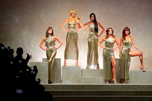 Sfilata tributo a Gianni Versace, Milano 2017