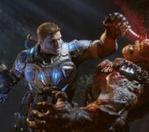 Una scena d'azione del nuovo Gears of War 4