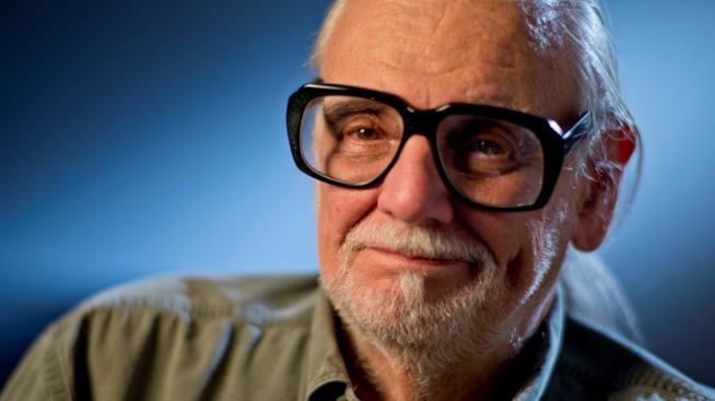 Il regista George Romero