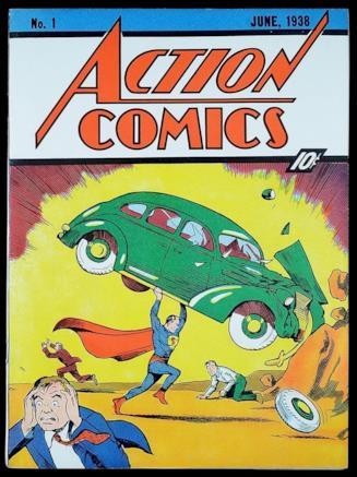 Copertina del numero 1 di Action Comics