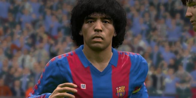 Un primo piano per l'alter ego di Maradona in PES 2017