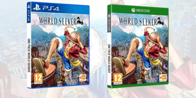 One Piece World Seeker cover PS4 Xbox One