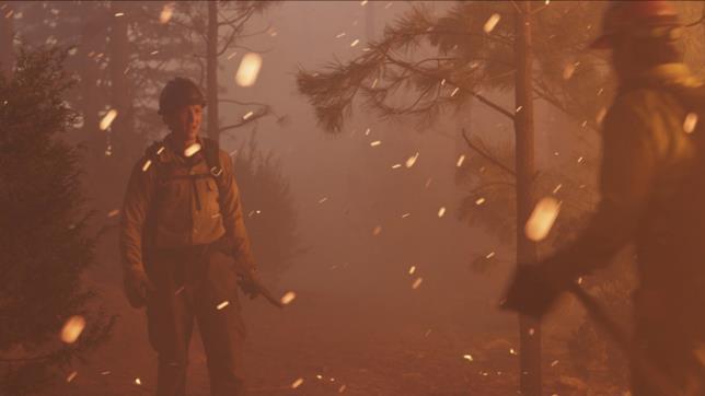 I pompieri di Fire Squad alle prese con le fiamme
