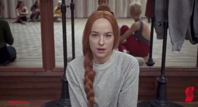 Dakota Johnson in una scena del film