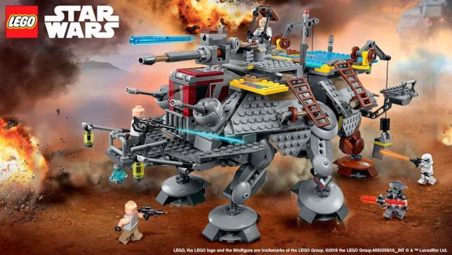 Set LEGO Capitano Rex