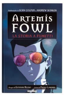 La versione a fumetti di Artemis Fowl