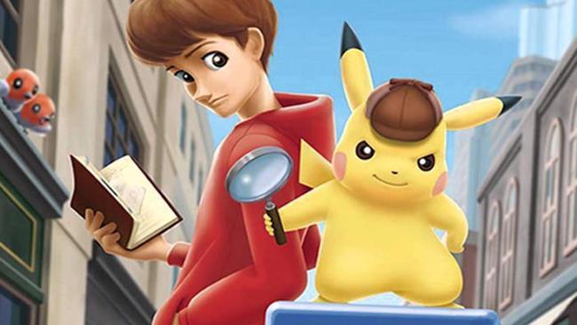 Detective Pikachu e il detective Tim Goodman