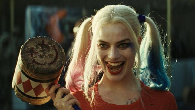 Margot Robbie nei panni di Harley Quinn nel film Suicide Squad