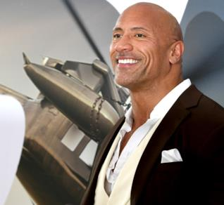 The Rock sul red carpet