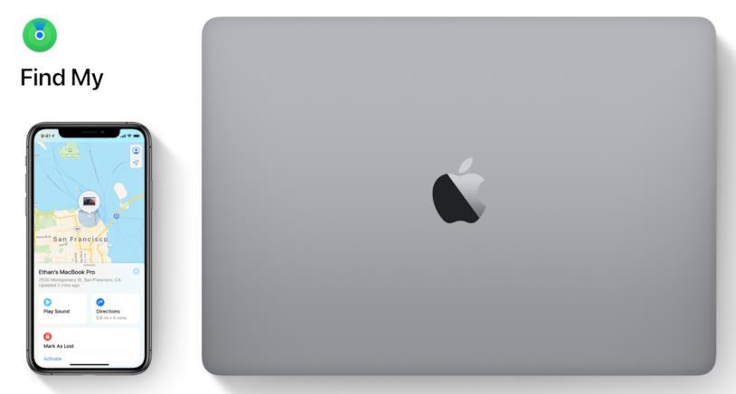 Immagine promozionale della nuova app Find My di Apple