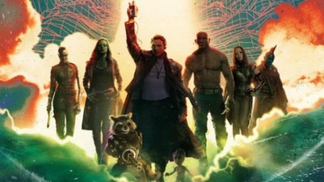 I protagonisti di Guardiani Della Galassia Vol.2