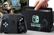 Un Nintendo Switch a tema The Elder Scrolls V: Skyrim