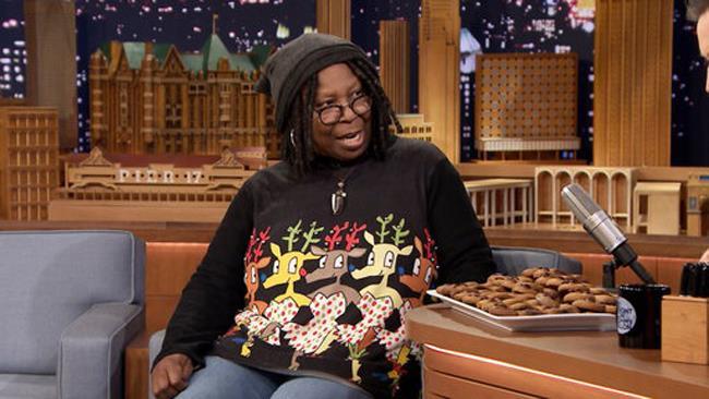Whoopi Goldberg ospite al Tonight Show