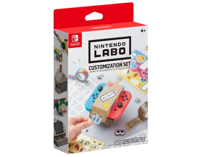 La confezione di Nintendo Labo: Customization Set