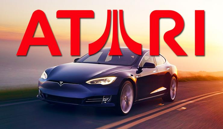 L'auto Tesla e i videogames Atari