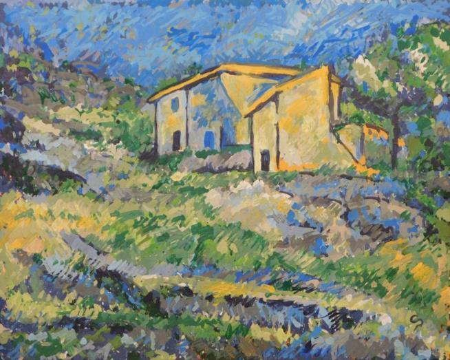 Cezanne's Houses at L'Estaque