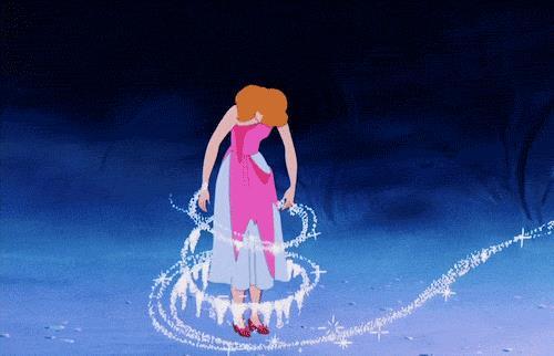 Cenerentola si trasforma in principessa
