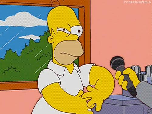 GIF di Homer Simpson