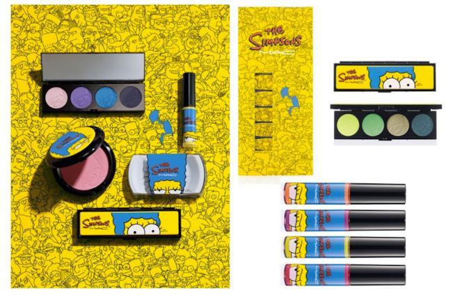 I Simpsons la collezione di Mac Cosmetics