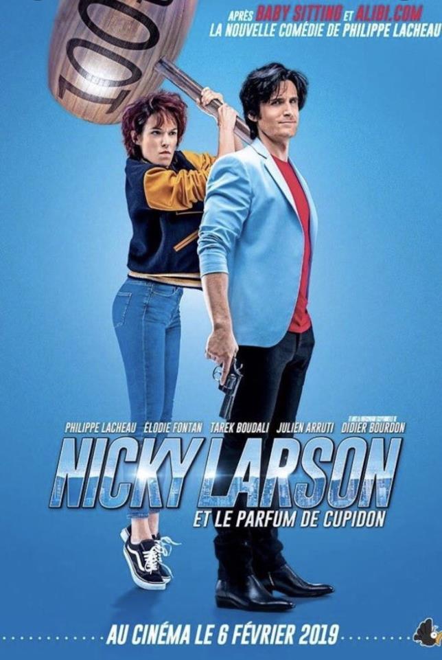 Il martello di City Hunter nel poster del live-action francese