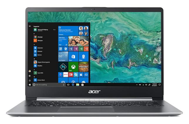 Immagine stampa del notebook Acer Swift 1 SF114-32-P56T