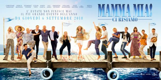 Ecco il poster ufficiale di Mamma Mia! Ci risiamo