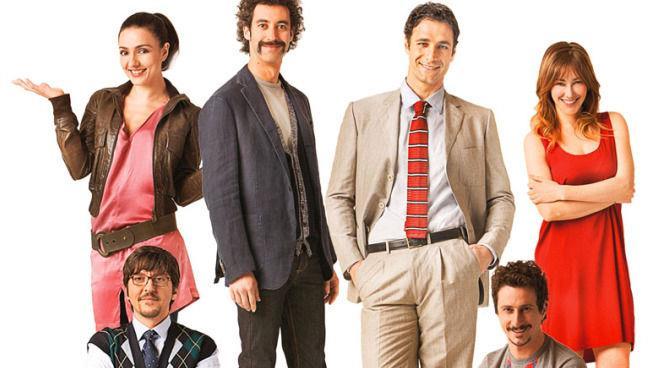 I personaggi principali del film Immaturi