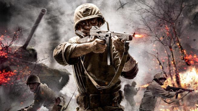 Soldati all'attacco in Call of Duty: WWII