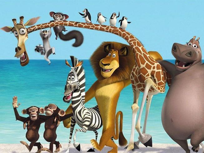 Buon Natale Madagascar.Madagascar Animali E I Doppiatori Italiani Del Film
