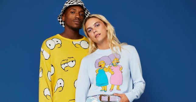 La collezione ASOS ispirata ai Simpson