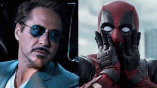 Tony Stark e Deadpool in cover