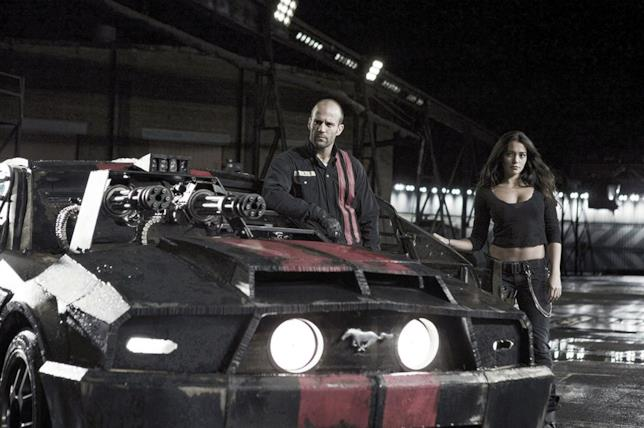 Jason Statham e Natalie Martinez