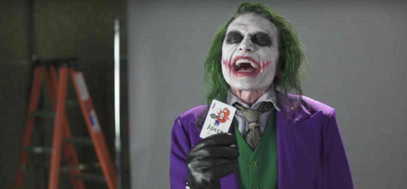 Tommy Wiseau nei panni del Joker nel provino per Todd Phillips e Martin Scorsese