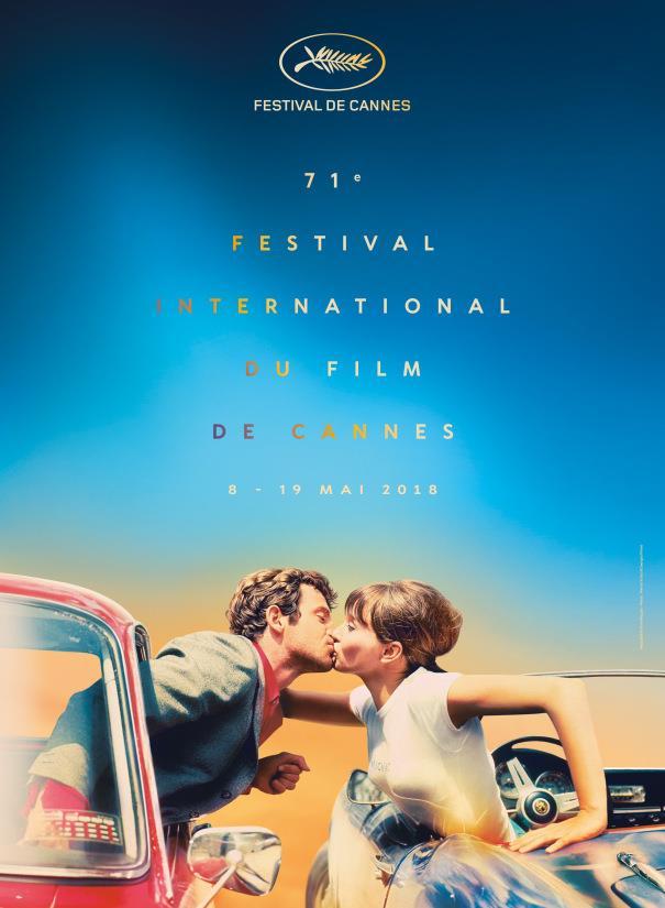 Il poster ufficiale del 71esimo Festival di Cannes
