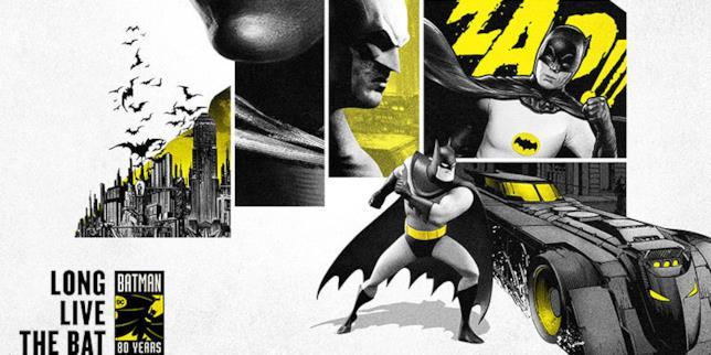A partire da marzo 2019 tutte le celebrazioni dell'80esimo compleanno di Batman
