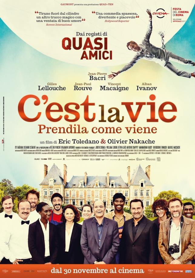 Poster italiano di C'est la vie - Prendila come viene