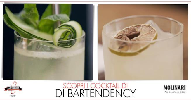 Le immagini dei due cocktail dei bartender milanesi di Bartendency