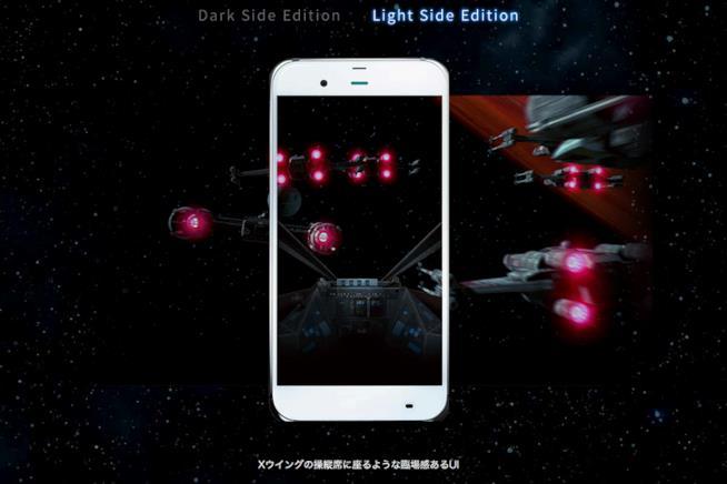 Smartphone di Guerre Stellari in uscita in Giappone