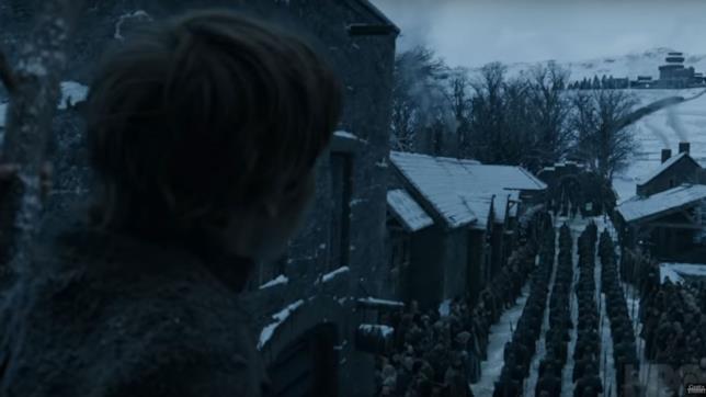 GoT 8: l'arrivo degli Immacolati a Grande Inverno