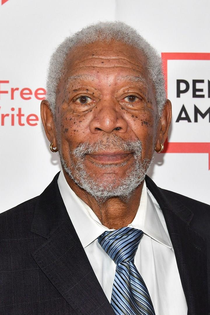 Morgan Freeman in una foto recente