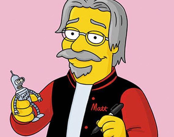 Matt Groening in versione animata