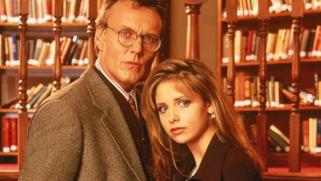 Anthony Head nella serie TV Buffy