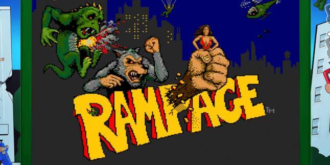 Rampage: il poster del film