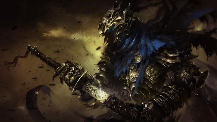Uno degli eroi di Dark Souls